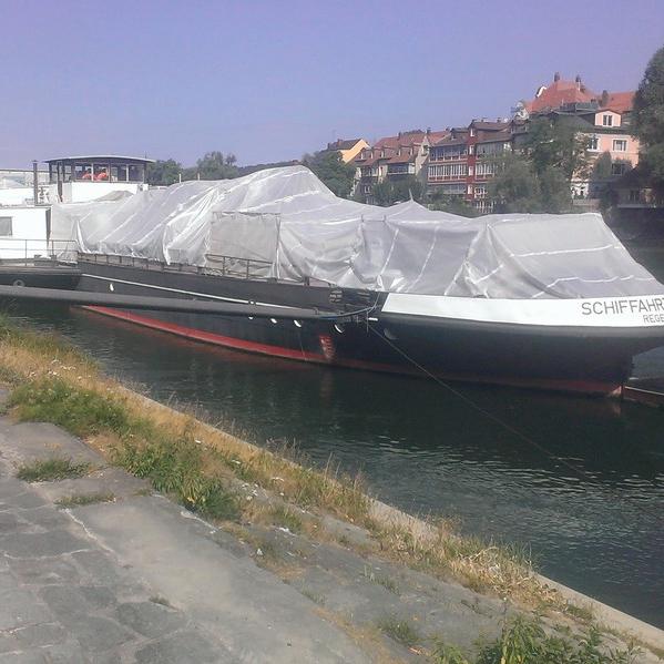 Boote sandstrahlen